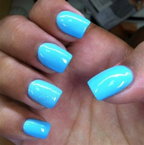 light blue nails sky blue nails pictures photos and images for