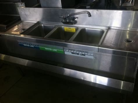 3 compartment sink for sale used 3 compartment sink for sale one fat frog