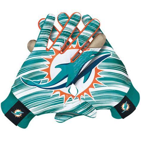 miami dolphins fan gear mens miami dolphins nike stadium fan gloves shop