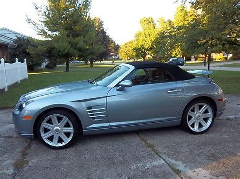 automobile air conditioning service 2007 chrysler crossfire spare parts catalogs find used 2007 chrysler crossfire limited convertible 2 door 3 2l in west chester ohio united