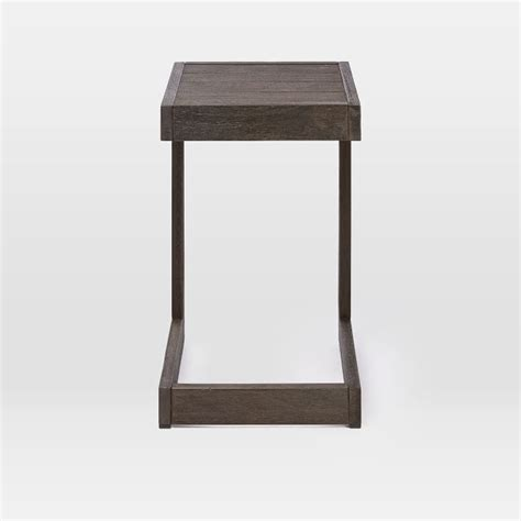 c shaped console table c shaped sofa table latest ikon faro cshape counter