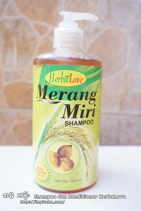 Merang Miri Shoo 100ml review shoo merang miri dan conditioner santan