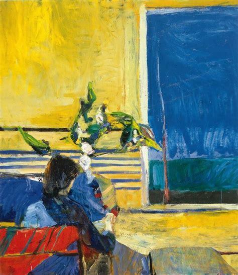Richard Diebenkorn Girl With Plant 1960 06a 挂饰(画)