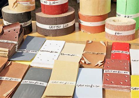 choose   sandpaper grit  smoother results
