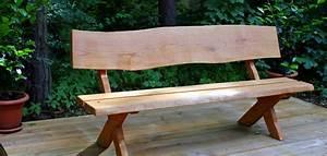 Gartentisch Holz Massiv : gartenbank aus holz rustikal massiv ~ Indierocktalk.com Haus und Dekorationen