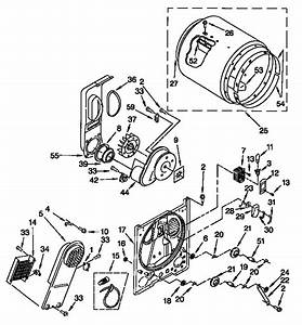 30 Kenmore Dryer Model 110 Parts Diagram