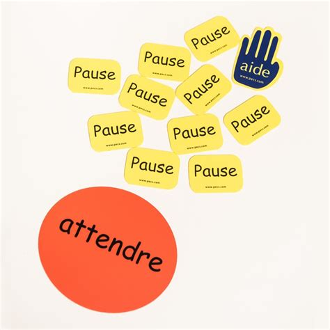 Lot Attendre Pause Aide Pecs And Aba Autisme