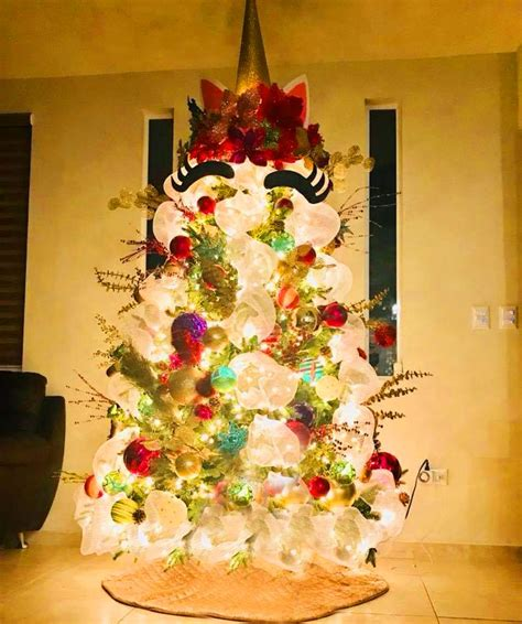 Transforma tu Pino de Navidad en Unicornio Cool