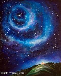 night paintings best 25 night sky painting ideas on ...