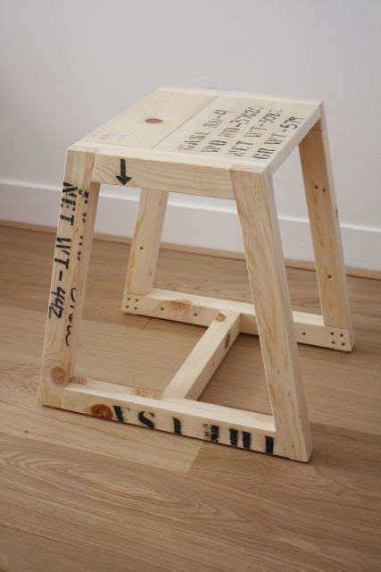 diy wooden stool woodworking projects plans