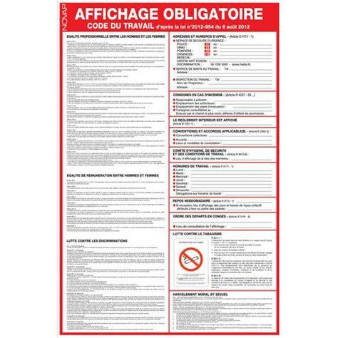 mobilier bureau entreprise panneau de signalisation réglementaire affichage