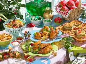Ein Märchenbuffet für den Kindergeburtstag LECKER