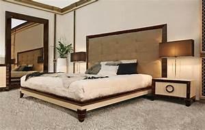 Letto Matrimoniale, testata imbottita, per alberghi di lusso IDFdesign