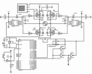 H Bridge Dc Motor Drive Circuit Proteus Diagram