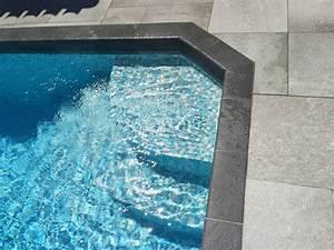 pose d39un carreau gres cerame anti derapant gris clair With carreau piscine