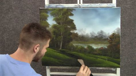 kevin hill painting paint oil paintings path acrylic hills lessons lakeside wet painted acrylics bk f3