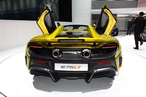 top des meilleures supercars du salon de 232 ve 2016 mclaren 675 lt spider l argus