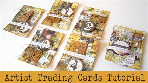 handmade atcs    atcs artist trading cards