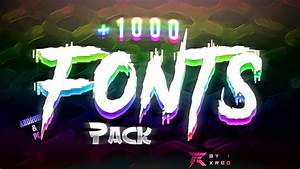 free gfx amazing free fonts pack for gfx designs 1000