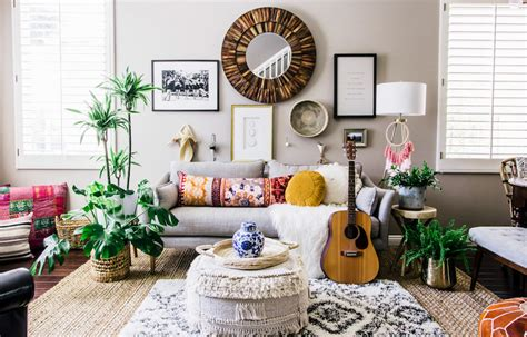 kitchen furnitures effortless boho style transforms a 90s cookie cutter home