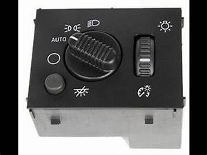 2005 Chevy Silverado Headlight Switch Replacement