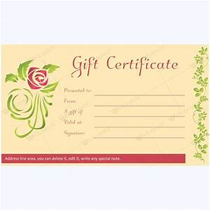 12 best Spa and Saloon Gift Certificate Templates images ...