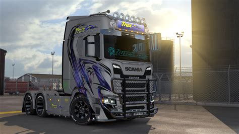scania new generation trux paintjobs for scania s r new generation truck
