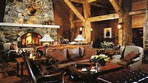 Rustic interior decor rustic cabin interior design rustic for Interior design ideas rustic look