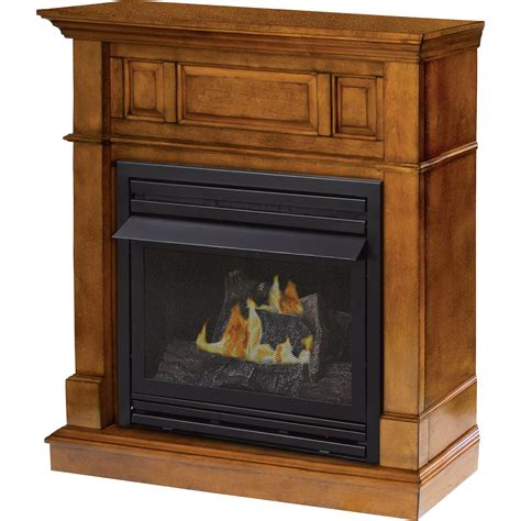 Pleasant Hearth Dual Fuel Vent Free Fireplace 27000 Btu