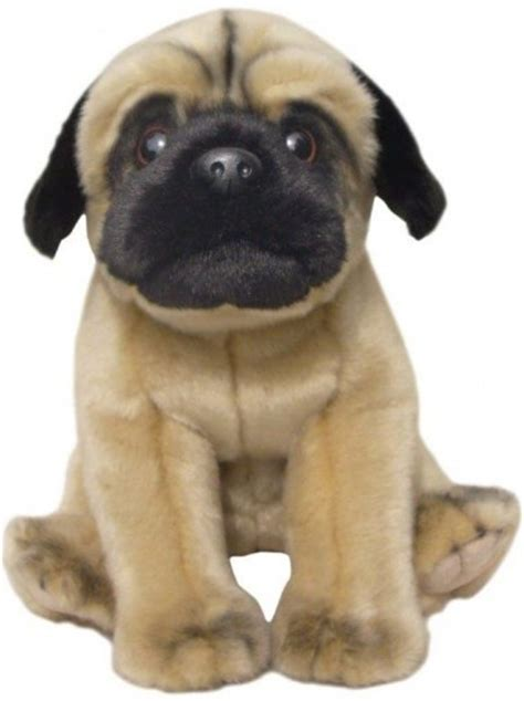 corfe bears faithful friends pug fawn soft toy dog cm