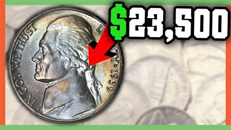 what collectables are worth money 23 000 rare nickel to look for rare error nickels worth money youtube