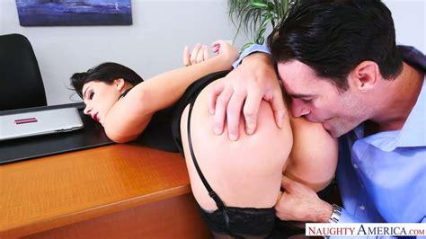gorgeous brunette valentina nappi enjoys having dirty sex with her boss