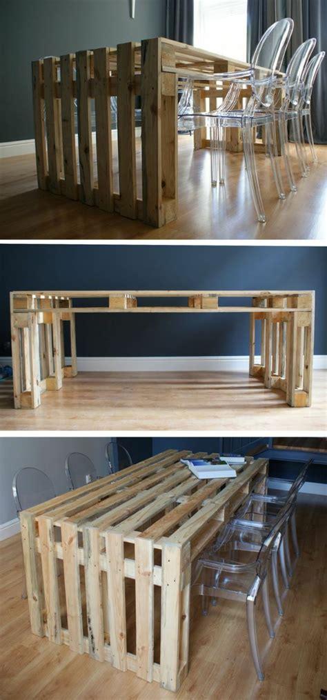 lustre cuisine moderne 50 idées pour une table basse avec palette