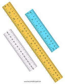 metric ruler  printable paper