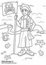 Coloring Nog Pirates Piraten Op Mermaid Pirate Printable Pages Kleuteridee Nl Kleurplaten Site Kleurplaat Veel Meer Afkomstig Van sketch template