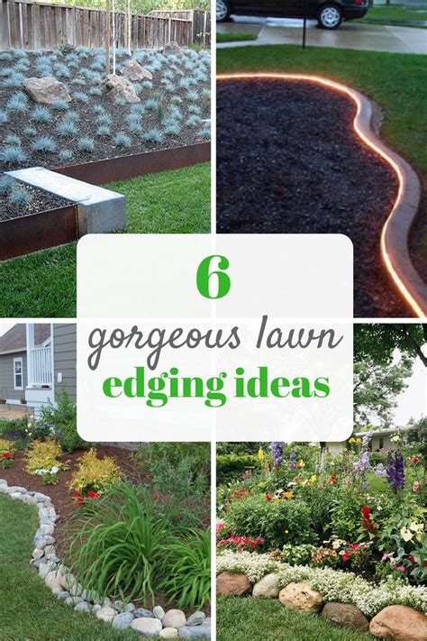best 25 lawn edging ideas on