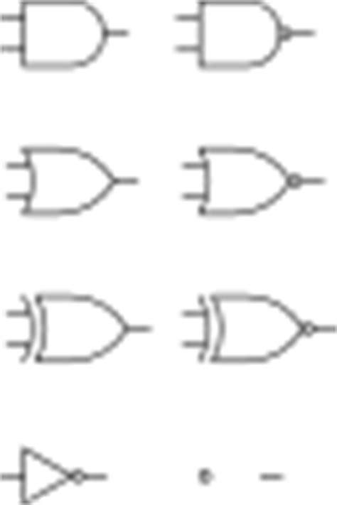 Digital Logic Gates Clip Art at Clker.com - vector clip