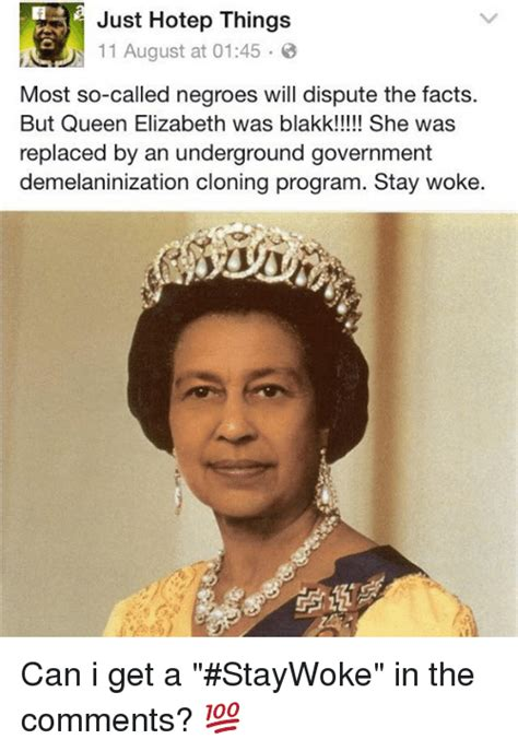Hotep Memes - just hotep things 11 august at 0145 most so called negroes will dispute the facts but queen