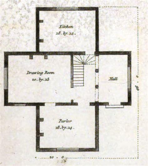 house plans 19th century historical tidbits 1835 house plans part 2