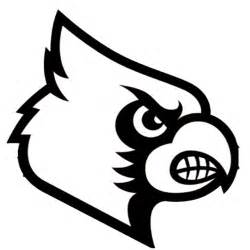 Louisville Cardinals Logo Coloring Pages