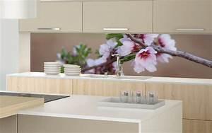 Küchenrückwand Kunststoff Motiv : druckmotiv rosa kirschbl ten nischenverkleidung ~ Buech-reservation.com Haus und Dekorationen