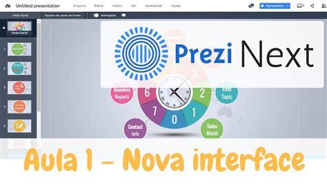 Prezi Next - Nova interface do Prezi 2017 - YouTube