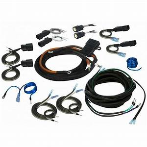 Harley 4 Channel Universal Amplifier Wiring Kit