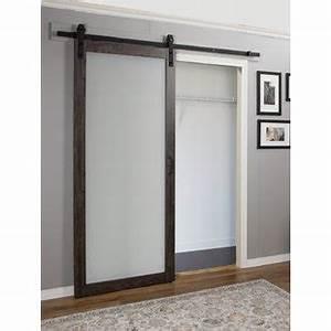 Sliding barn door media center wayfair for 40 inch interior barn door
