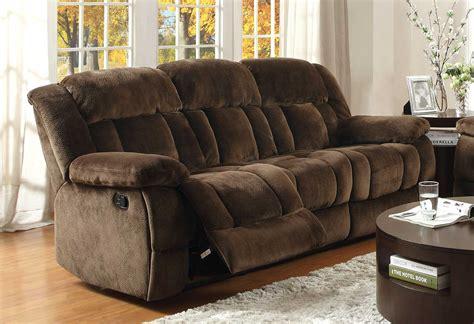 homelegance reclining sofa reviews homelegance laurelton double reclining sofa chocolate