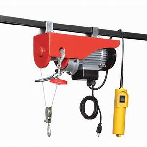 440 Lb  Electric Hoist With Remote Control