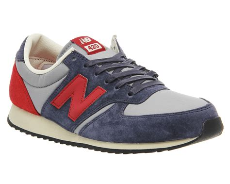 shoes 420 womens new balance gray navy with new balance u420 trainers navy st unisex sports