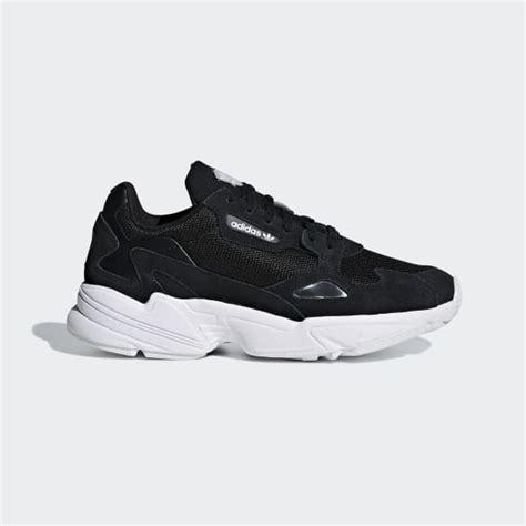 adidas falcon shoes black adidas