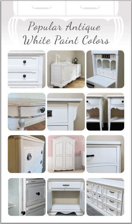 furniture paint colors popular antique white paint colors for furniture painted