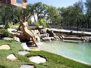 jardin paysager pour le jardin reference maison With ordinary jardin paysager avec piscine 6 creation